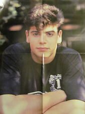 Jordan Knight, New Kids on the Block, Jonathan Knight, Four Page Foldout Poster