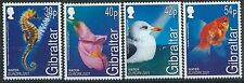 n081) Gibraltar. 2001. MNH. SG 968 to 971. Water & Nature.
