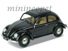 WELLY 18040 1950 50 VW VOLKSWAGEN CLASSIC BEETLE 1/18 DIECAST MODEL CAR BLACK