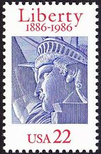 US - 1986 - 22 Cents Statue of Liberty 100th Anniversary Issue #2224 Mint NH VF