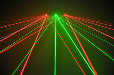 *NEW* *3 HEAD* TRIFAN LASER- 2x Red 1x Green for disco dj stage karaoke pub club