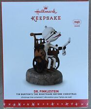 Hallmark 2016 The Nightmare Before Christmas Dr. Finklestein Ornament With Sound