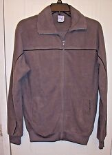 Men's Gray Casual Joe Comfort Jacket by Haband - Zippered Front - Size: S