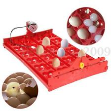 96 Bird Eggs/24 Chicken Egg Tray For Poultry Hatch 220v Mini Incubator Automatic