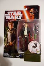 "STAR WARS - Action Figures - Han Solo - The Force Awakens - 3.75"" MOC"