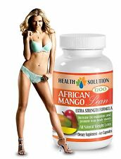 African Mango Cleanse - Natural Super Boost Weight Loss (1 Bottle, 60 Capsules)