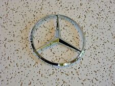 "New Mercedes Benz Chrome Star Emblem Logo Badge 114mm/4.5"" - Free US Shipping"