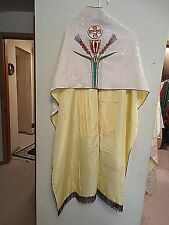 Catholic Vintage French Altar vestment Dalmatic Humeral cope & stole of Christ