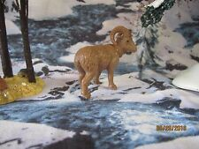 "TRAIN GARDEN HOUSE VILLAGE ANIMAL "" WILD RAM ACCESSORY "" + DEPT 56/LEMAX info!"
