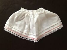 American Girl Doll Samantha Lacy Whites Petticoat Skirt ONLY Pleasant Company