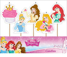 Disney Princess Candles 5PK AWE2093 Party Supplies Cake Toppers Decoration