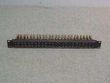 """Switchcraft 1/4"""" TRS 48 Point Patchbay w/ JJ-024 Jacks"""