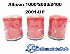 GM Allison 1000 2000 Transmission Truck External Spin On Filter 3-Pack 29537268