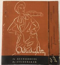1938 Accessories By Studebaker Catalogue