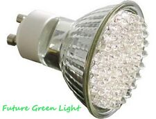 GU10 60 LED 240V 3W 120LM WARM WHITE BULB ~40W