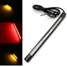 48 LED Motorcycle Flexible Strip Tail Turn Signal Brake Stop Integrated Light UK