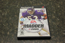 Madden NFL 2005 (Sony PlayStation 2, 2004) 103676 (BY8C)