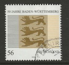 Germany 2002 50th Anniv of Baden-Wurttenberg State SG 3103 FU