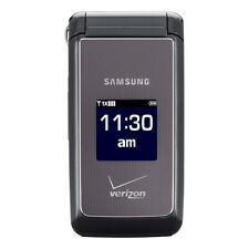 Samsung SCH U320 Haven Cellular Phone (VERIZON) Cell Flip Camera Charcoal ~Gray~