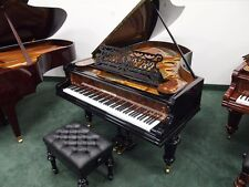 "C. Bechstein Restored 6'7"" Grand Piano, Rebuilt by Master European Craftsmen"