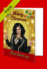 JESSIE J CHRISTMAS CARD Top Quality Repro Autograph Signed A5