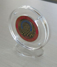 Military Challenge Coin Display Holder Case Stand w/ Magnetic Fastener  COIN-AC2