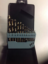 13 PC COBALT DRILL BIT SET MULTI BITS SAE