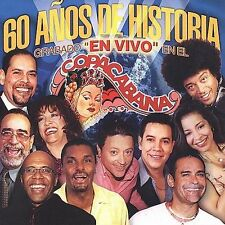 Various Artists, 60 Anos De Historia Grabado En Copacabana Audio CD