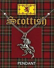 Scottish Unicorn pewter Pendant. Scotland Heritage Culture