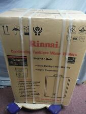 New Rinnai RU 98i 9.8 GPM Condensing Tankless Natural Gas Water Heater
