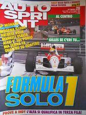 AUTOSPRINT n°20 1991 Gp Monaco dominio Ayrton Senna - Patrese Mansell   [P64]