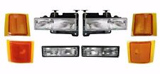 1994 - 1998 GMC K1500 SUBURBAN / YUKON  HEADLIGHTS,CORNER,SIDE LAMPS LIGHTS