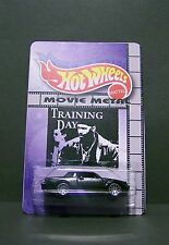 "Custom HotWheels car and package from  ""Movie Metal""  Training Day"