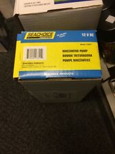 Seachoice Johnson 102445301 Macerator Pump Head Marine 10 GPM 12V 12 Volt  17891