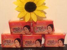 5 X Beauche international Kojic Papaya Beauty Soap.Lot Of 5. USA SELLER