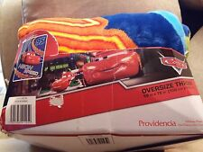"""New Official Disney Cars Oversize Large Super Soft Throw Blanket - 59"""" X 78"""""""