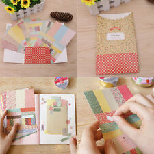 8PCS Vintage Art Paper Card Photo Album Designer Craft Making Scrapbook Pad
