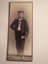 Wilhelmshaven - Matrose der SMS Mars in Uniform - Portrait / CDV
