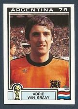PANINI WORLD CUP STORY #119-ARGENTINA 78-NEDERLAND-HOLLAND-ADRIE VAN KRAAY