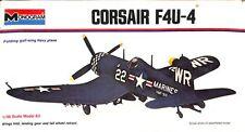 Monogram 1:48 F4U-4 Corsair Fighter-Bomber Plastic Model Kit #6833U