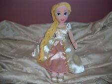 Disney Store Princess Rapunzel Tangled Ever After Bride Wedding Plush Doll 20""