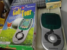 BOXED 1998 Tandy Radio Shack Talking Golf Tour hand held game