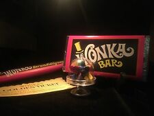 Wonka Bar Everlasting Gobstopper Golden Ticket Replica Props 5 Pc Set