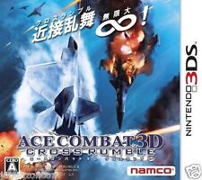 Used 3DS Ace Combat 3D: Cross Rumble  NINTENDO 3DS JAPANESE  IMPORT