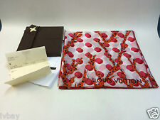 NUOVO in scatola Authentic Louis Vuitton RAMAGES Dots Stola Sciarpa grenad m75674