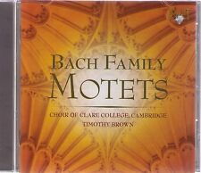BACH| BACH FAMILY| MOTETS | Choir of Clare College, Cambrigde |CD-Album