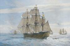 """Geoff chasse édition limitée: """"Angleterre attend..."""" Canvas"""
