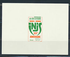 IVORY COAST DELUXE PROOF SPORTS INSTITUTE