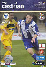 2013/14 CHESTER FC V LINCOLN CITY 21-12-2013 Skrill Premier (Excellent)