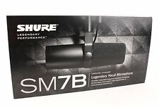 Shure SM7B Cardioid Dynamic Vocal Professional Microphone Mic NEW w/ Windscreen